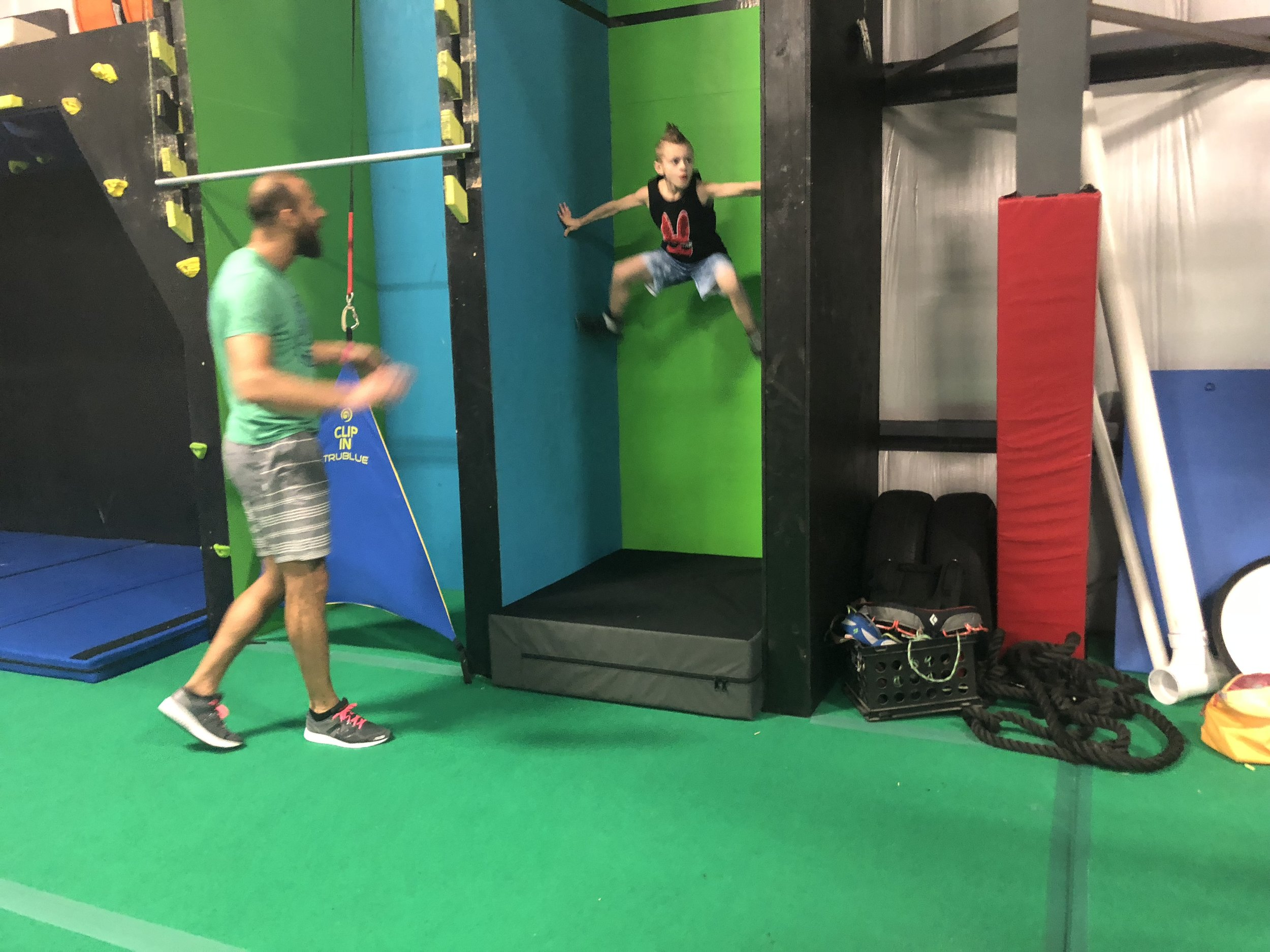 Neighborhood Ninjas hosts community days for kids to interact with one another, and professional American Ninjas Warriors.