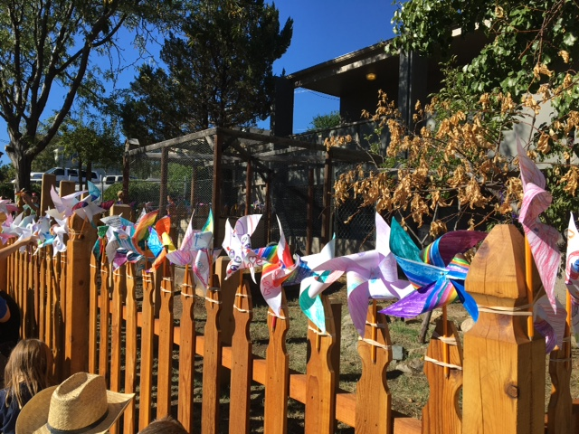 Pinwheels for Peace...