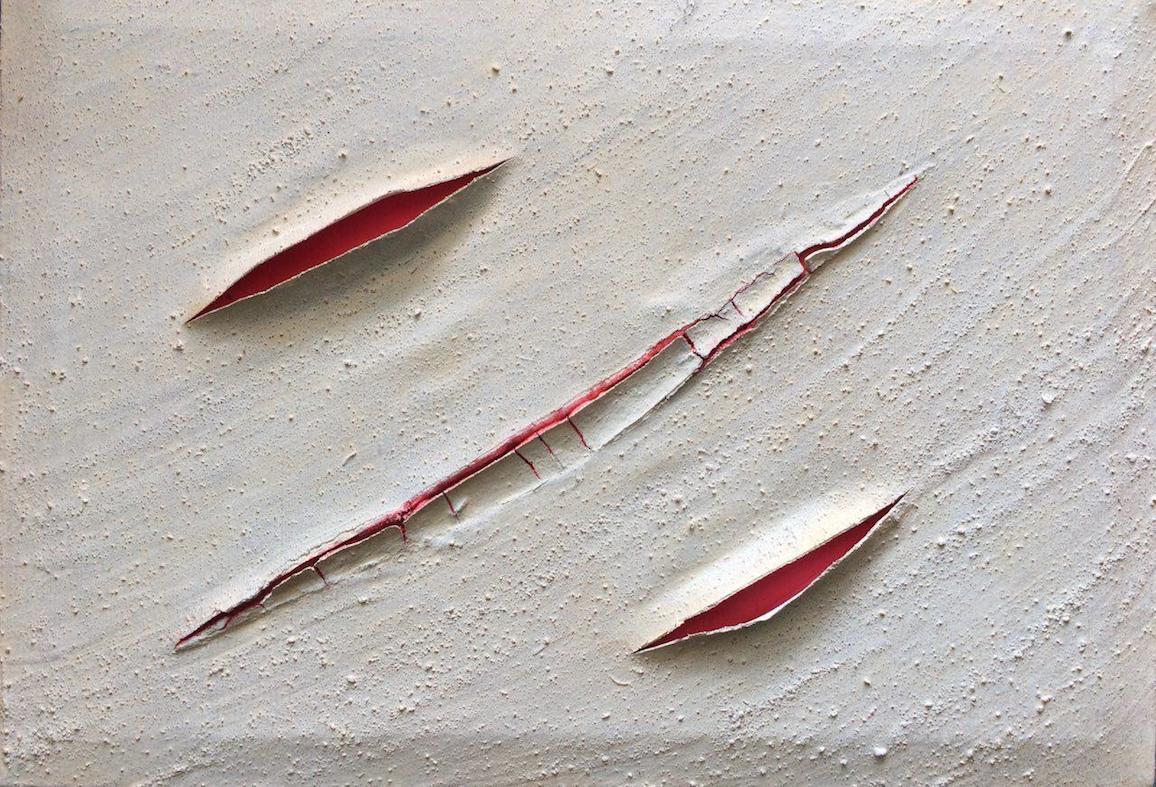 Rojoo', 2017, technique mixte sur toile, 50 x 30 cm..jpg