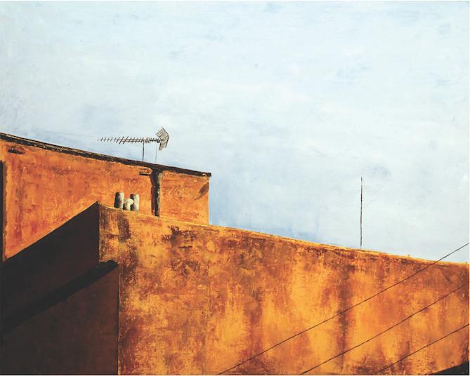 daneshgah Honar, 80x100cm,huile sur toil 2008.png