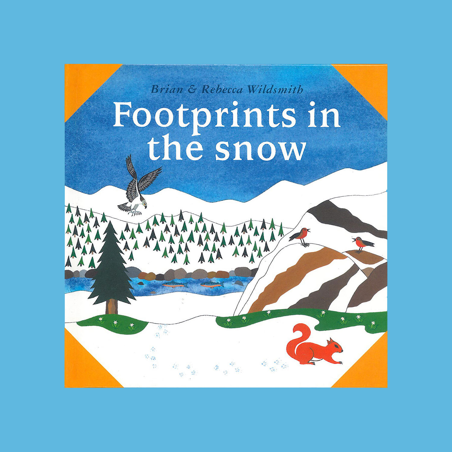 """FOOTPRINTS IN THE SNOW - 1996""""It's winter and the snow is full of footprints. But who has made them? Is it a bear, a fox, or a squirrel. This is the latest in the What Next Books series, which encourages very young children to listen, look, and work out for themselves what will happen next on the pages."""""""
