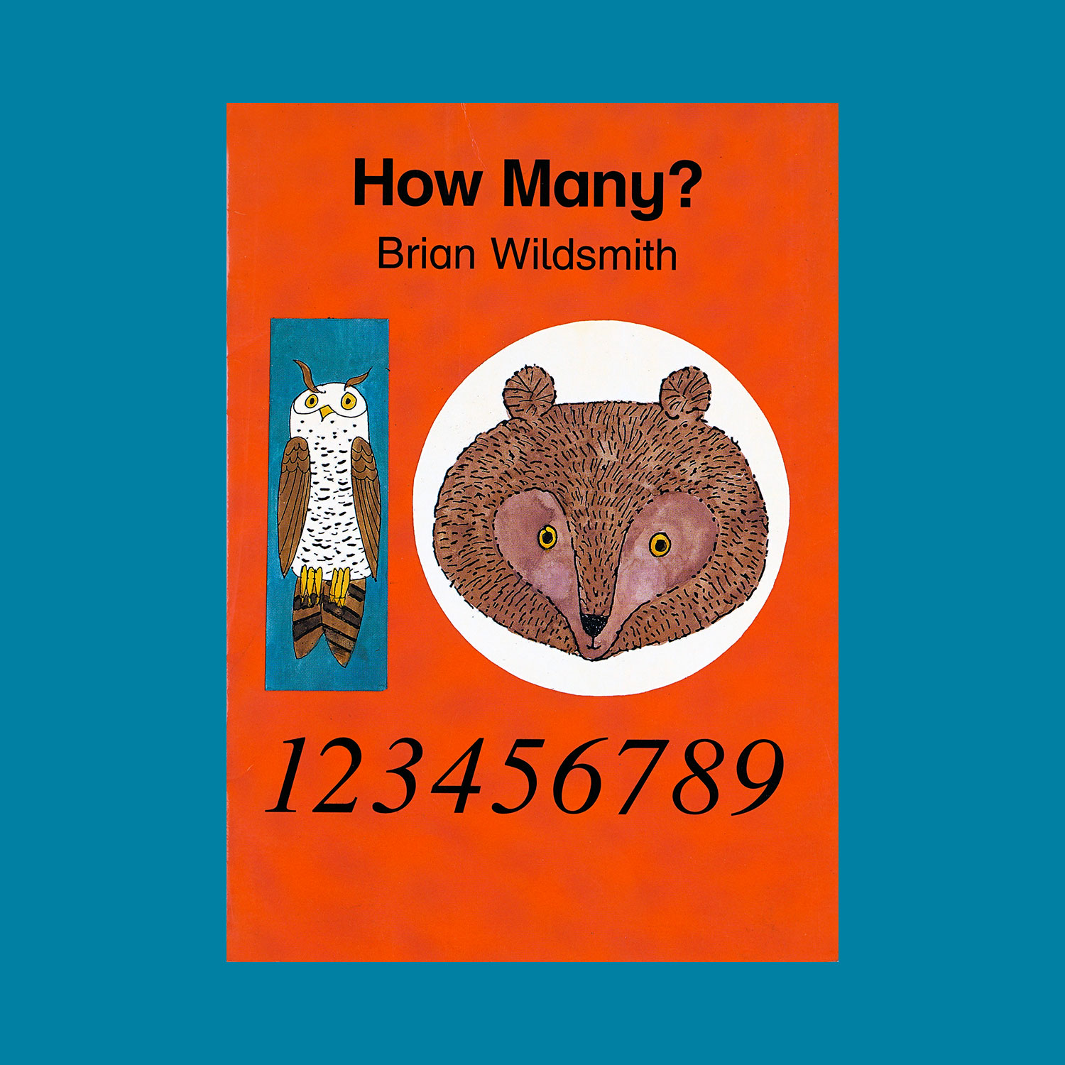 """HOW MANY ? - 2000""""An animal counting book where the child is asked to find how many of a particular animal is on each page."""""""