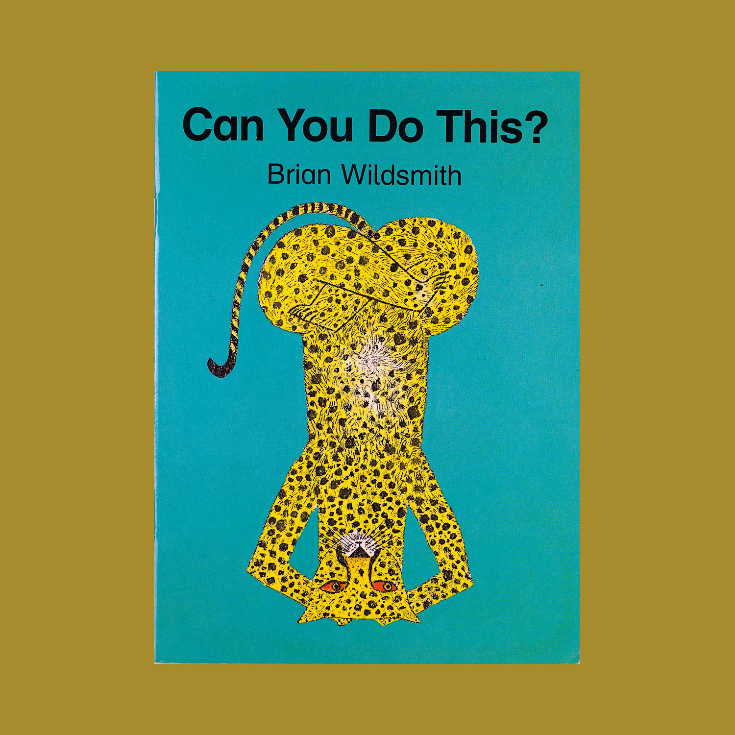 """CAN YOU DO THIS ? - 2000""""A dog, a tiger, bear and other creatures in numerous yoga positions."""""""