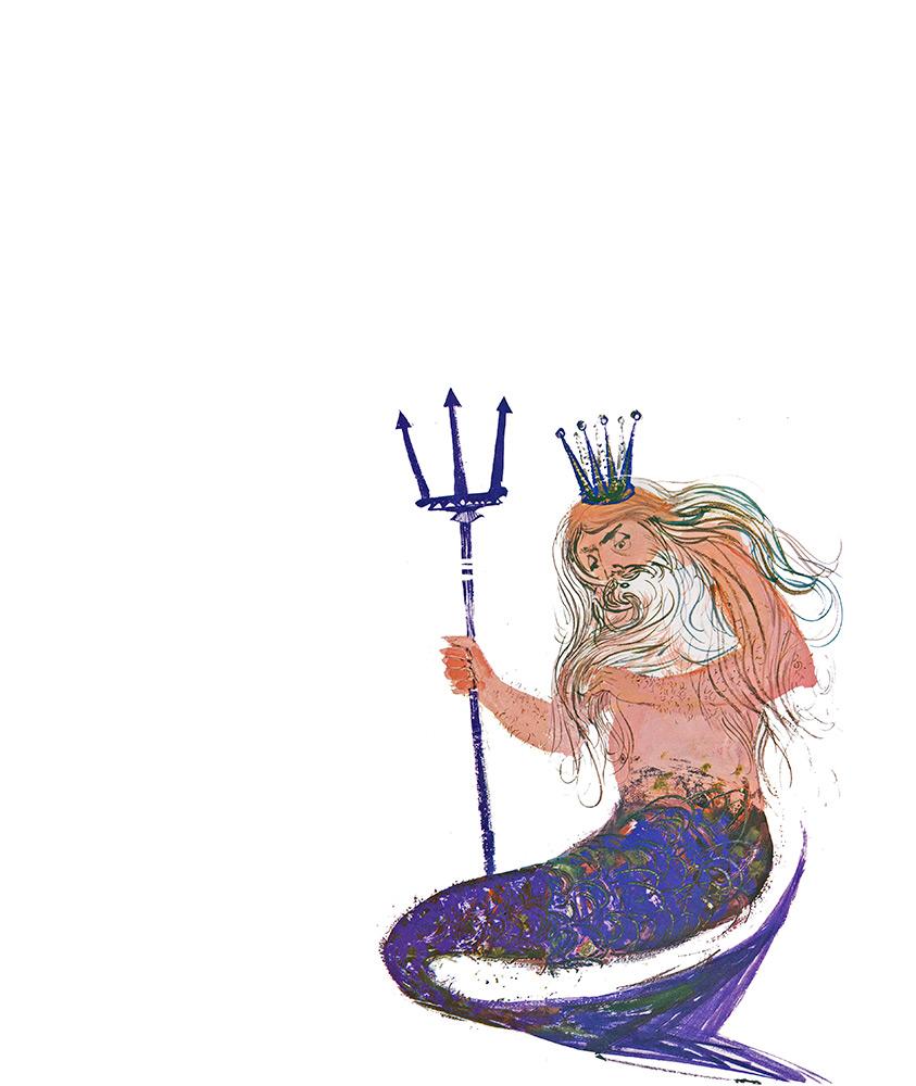 The forsaken merman. Matthew Arnold.