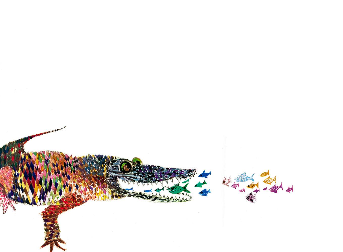 How doth the little crocodile. Lewis Carroll.