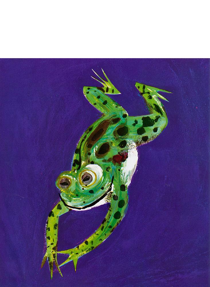 Hopping frog. Christina Rossetti.