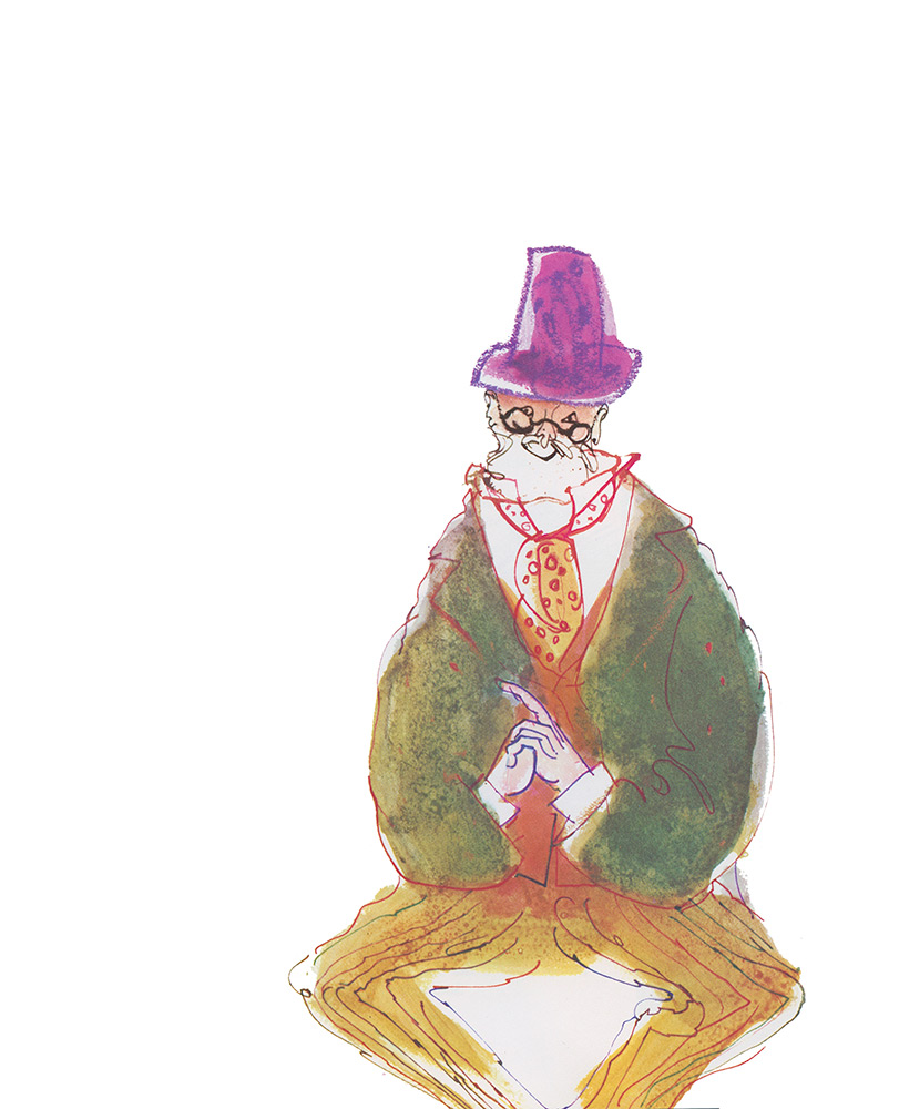 There Was an Old man Who Said. Edward Lear.
