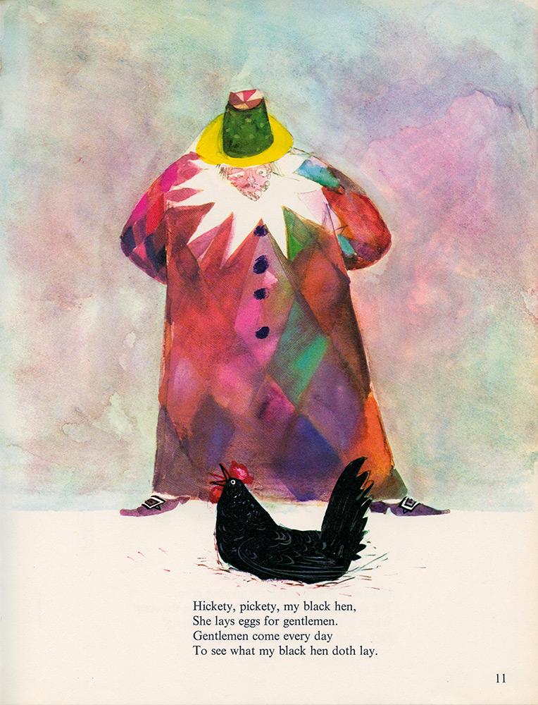 Mother-Goose-Hickety-Pickety-My-Black-Hen-illustration-by-Brian-Wildsmith.jpg