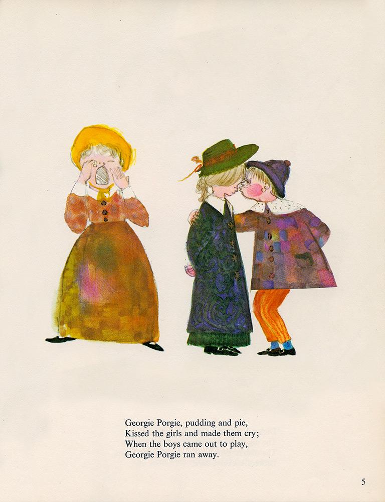 Mother-Goose-Georgie-Porgie-illustration-by-Brian-Wildsmith.jpg