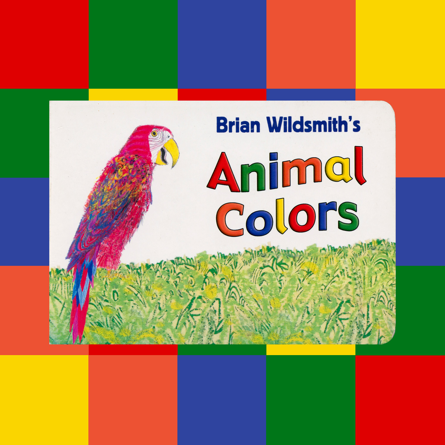 """BRIAN WILDSMITH'S ANIMAL COLORS - 2007""""Wildsmith teaches colors through the vibrantly illustrated animals on the pages of this popular color book."""""""