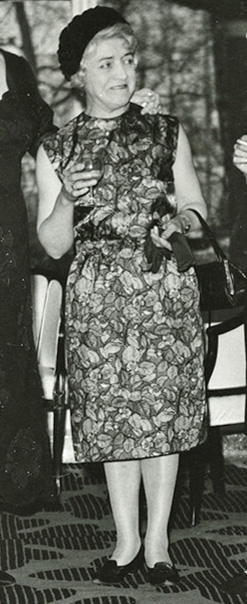 Miss Mabel George at The Savoy hotel London.