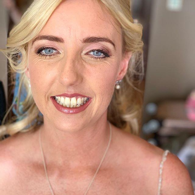 Elaine , stunning ! #lagosmakeupartists #weddingmakeup #bride #algarveweddings
