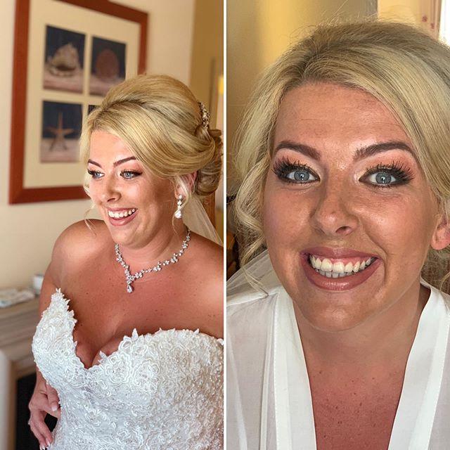 No filters , stunning Rebecca ...♥️ Happy Times  #algarvemakeupartist #destinationweddings #algarvemua #bridalmakeup
