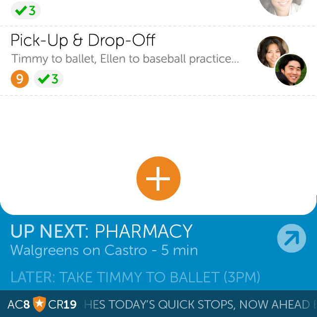 """Emu Messenger  2012-2014   Co-founded this """"smart chat"""" startup to make coordination easier via messaging. Chief Product Officer and sole designer."""