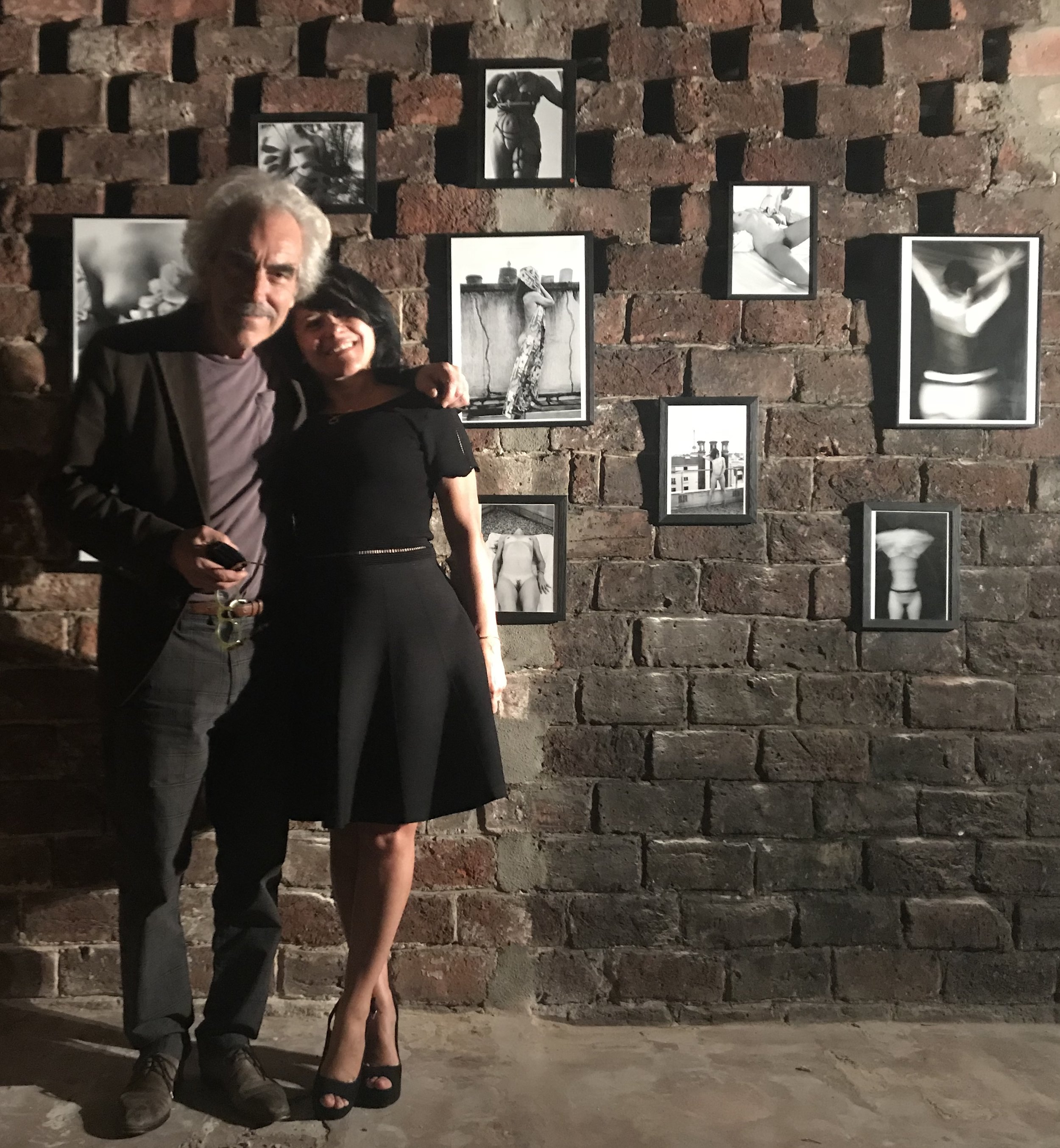 Gilbert Peyre, l'artiste magicien que j'admire a eu des mots sur mes photos qui m'ont remplie de joie !