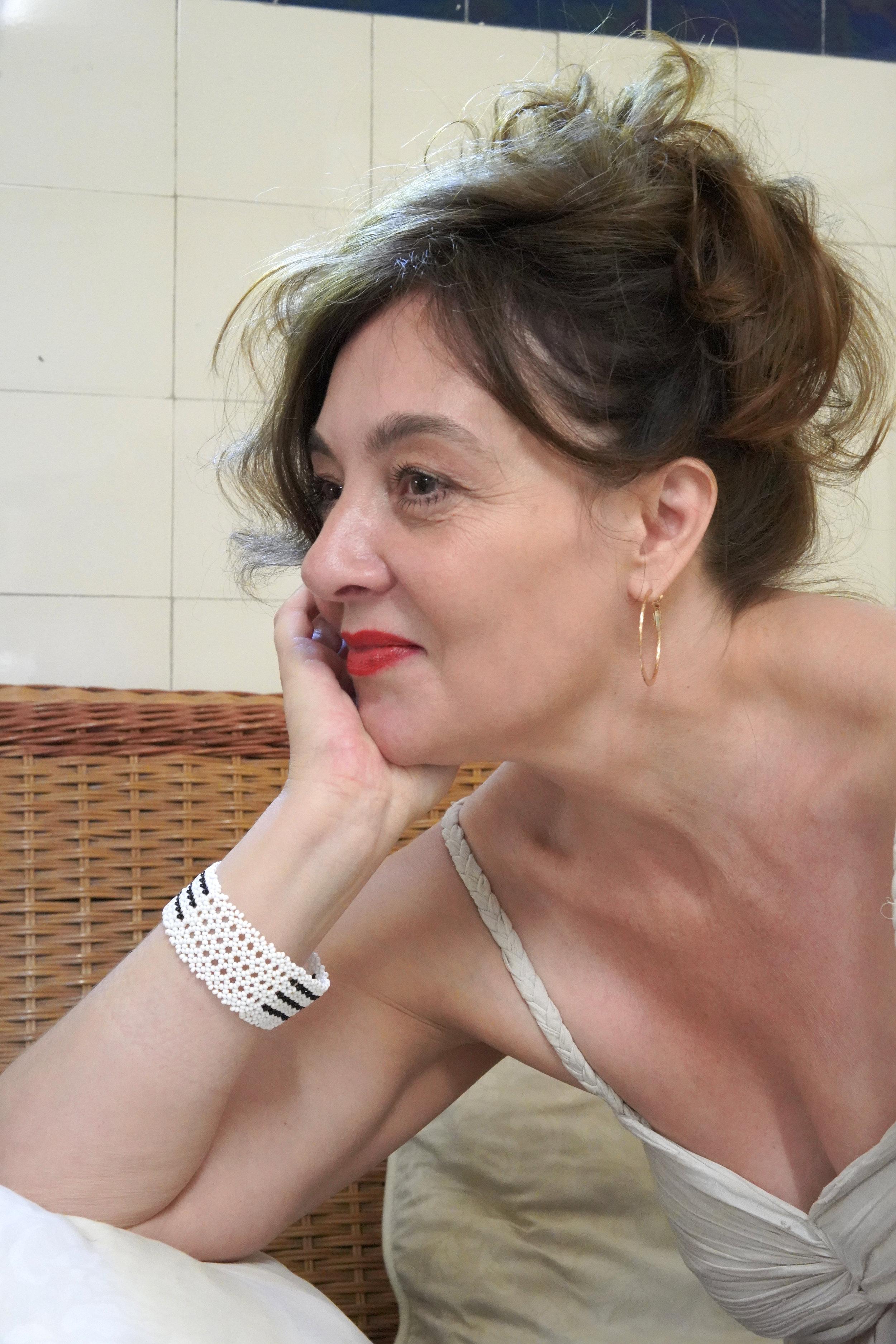 Sarah Jalabert, écrivaine et poétesse  Photo : Olga Caldas, 2018