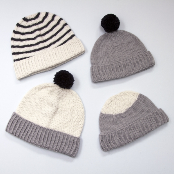 Roll Up Beanie Challenge - Sign up to my mailing list to get a free email guide with knitting hints and tips taking you through my new Roll Up Beanie knitting pattern.