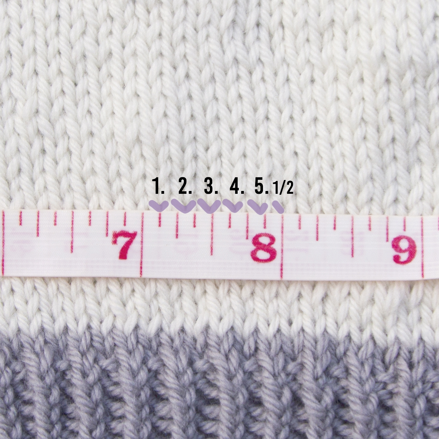 how to count stitches