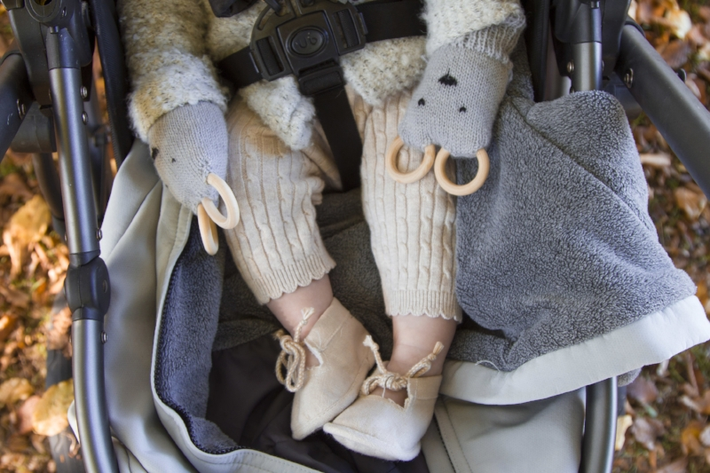 bear teething mittens