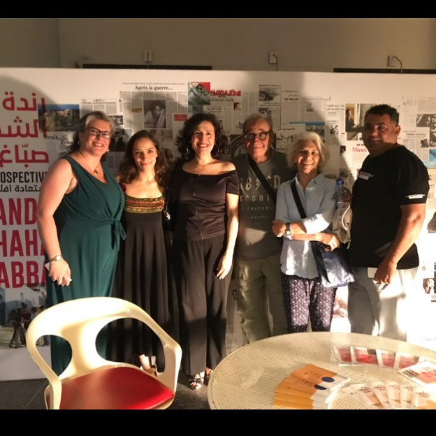 Thank you all for coming yesterday at The Kite's screening. Members of the fabulous crew including actresses @flavia.juska.bechara and @julia_jkassar were here as well. And @boubrig and @labridveronique without whom this retrospective wouldn't have existed! Thank you for your support and attendance. 🎬 Don't miss the last film we are showing tonight in the framework of #randachahalsabbag 's retrospective. 8pm | screening of Nos Guerres Imprudentes.