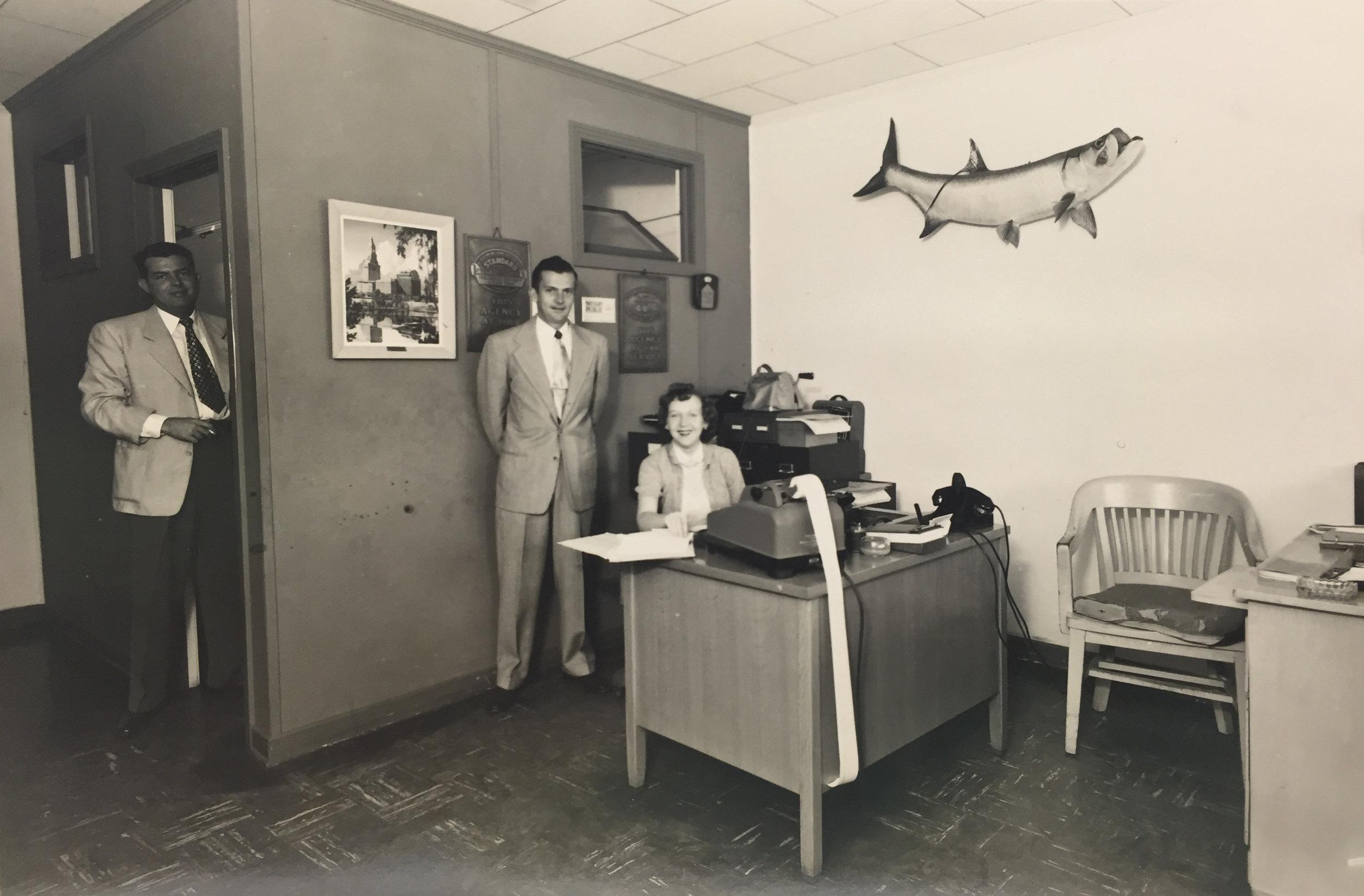 Bouchard Office 1951.jpg