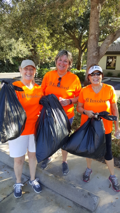 Be Involved team at a Adopt-a-Highway cleanup in Clearwater