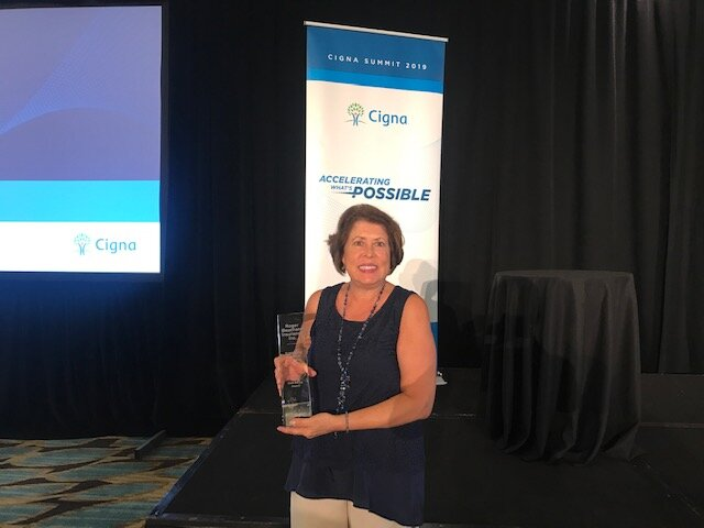 Cigna Well Being Award.JPG