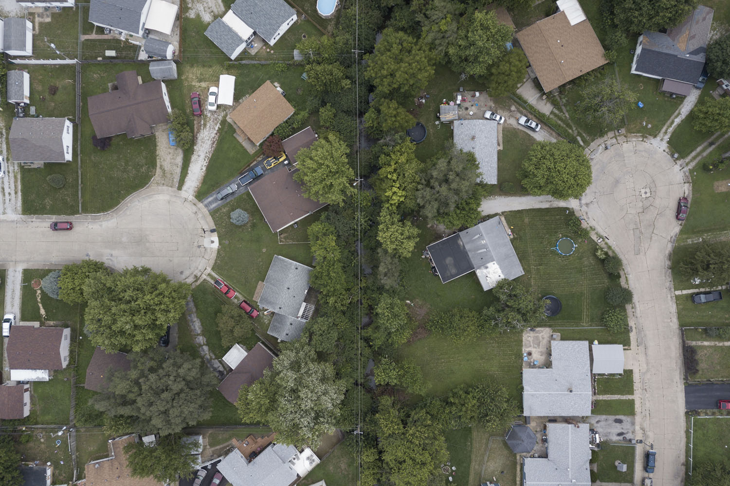 Bean Creek (Aerial) , 2018