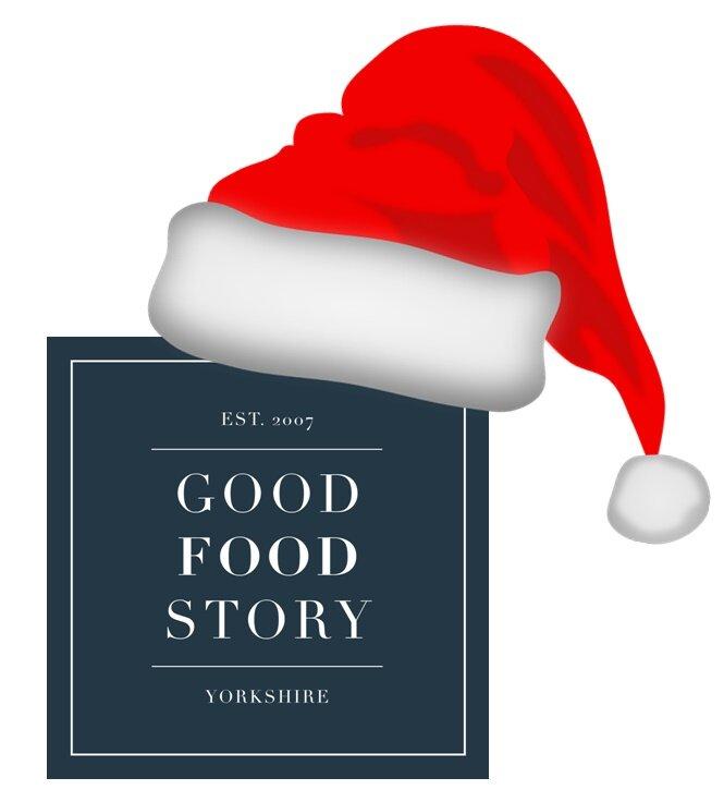 Christmas Good Food Story Logo