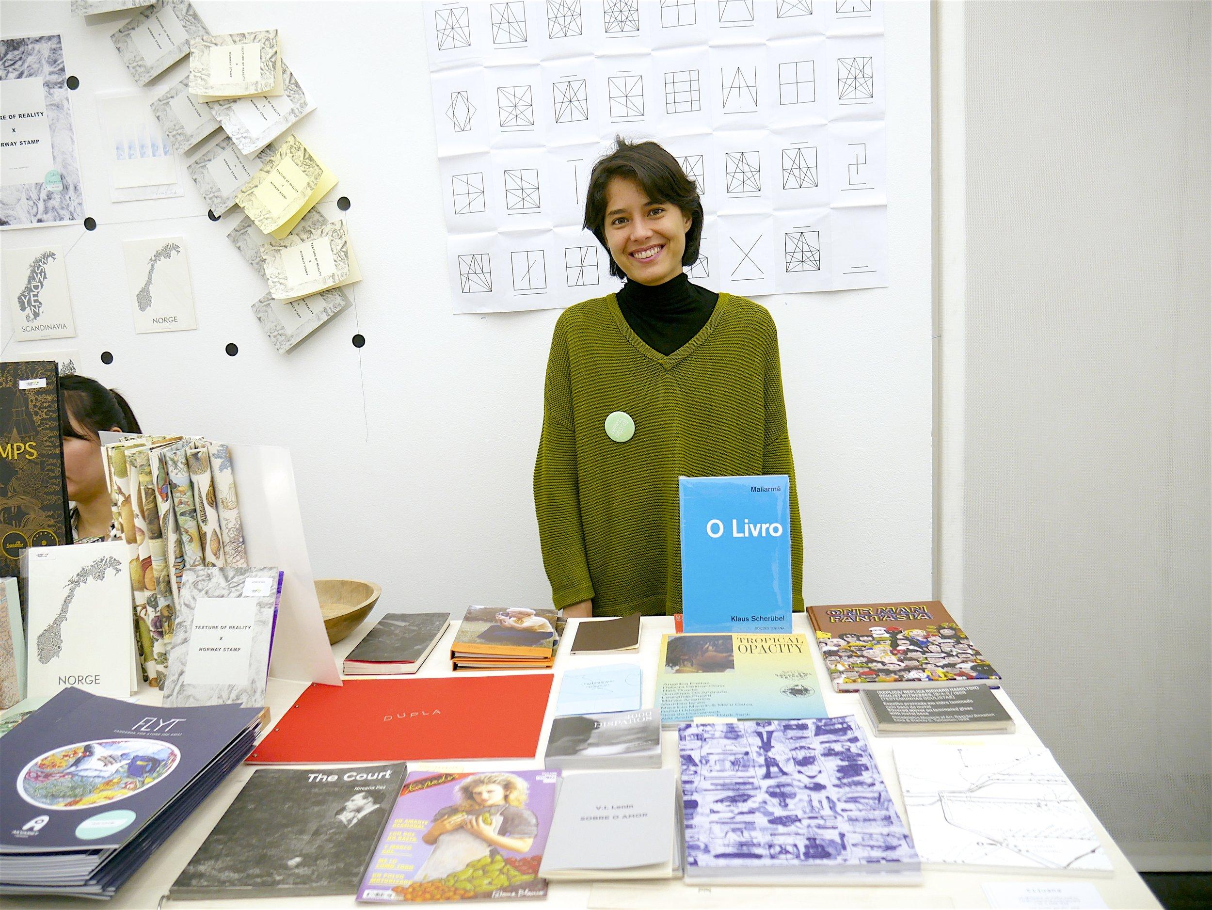 Maite Claveau from Edições Tijuana (São Paulo, Brazil)