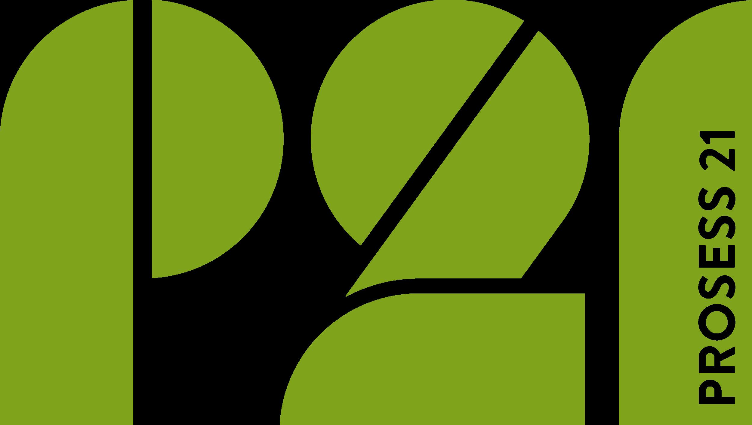 Prosess21 logo dark green