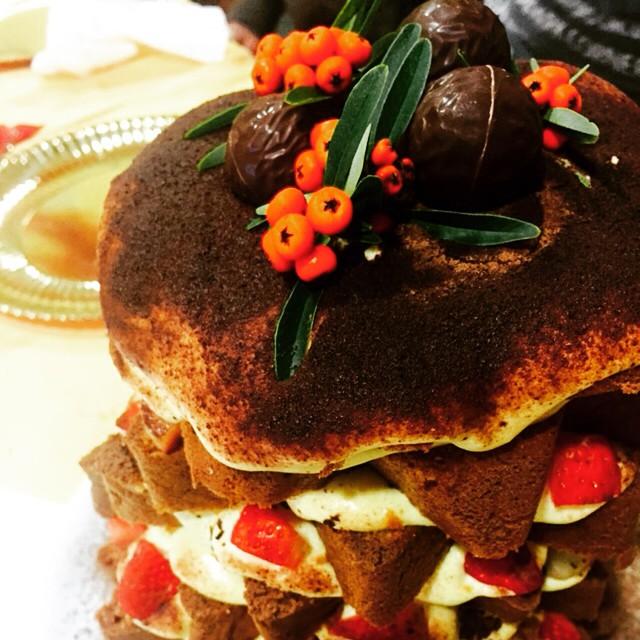 #pandoro farcito #ziaSilvy #dessert #delizie #happychristmas
