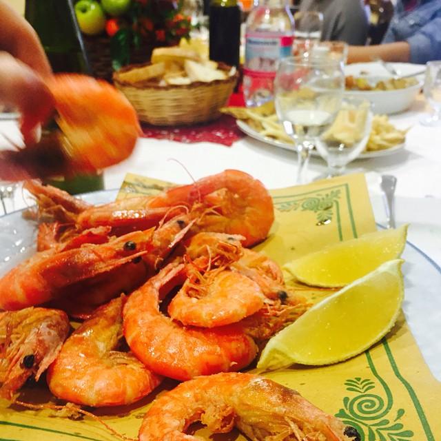 #pesce #fritturina #pranzodinatale #shrimp