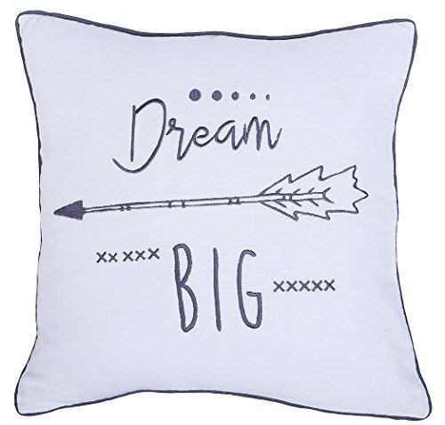 "Beautiful ""Dream Big"" Pillow Cover"