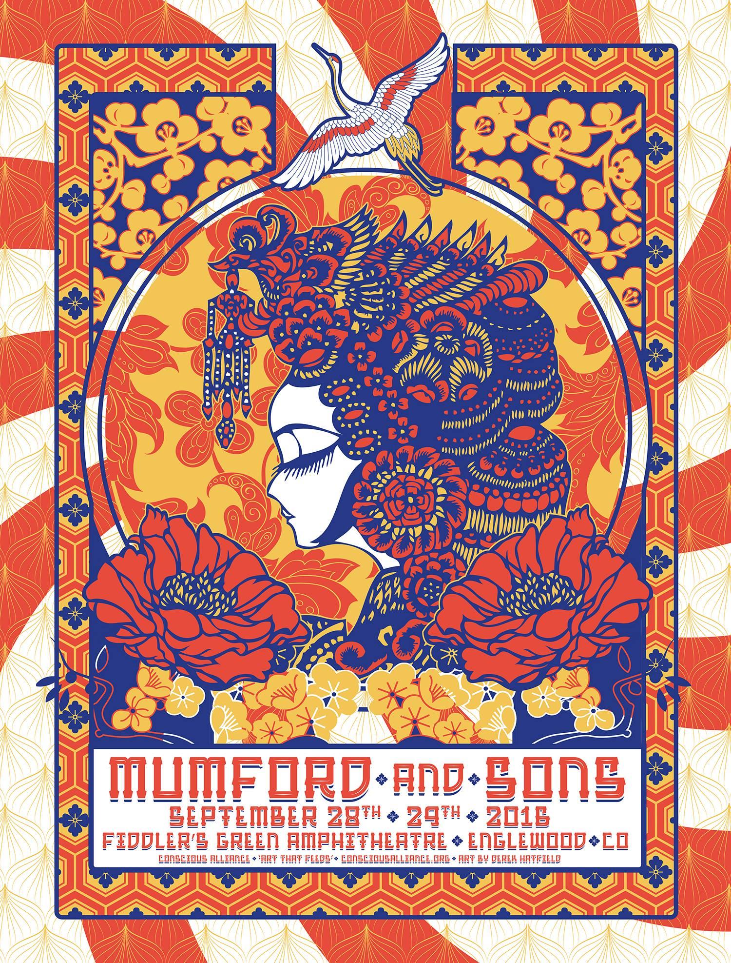 Mumford & Sons - 9.28,29.2016