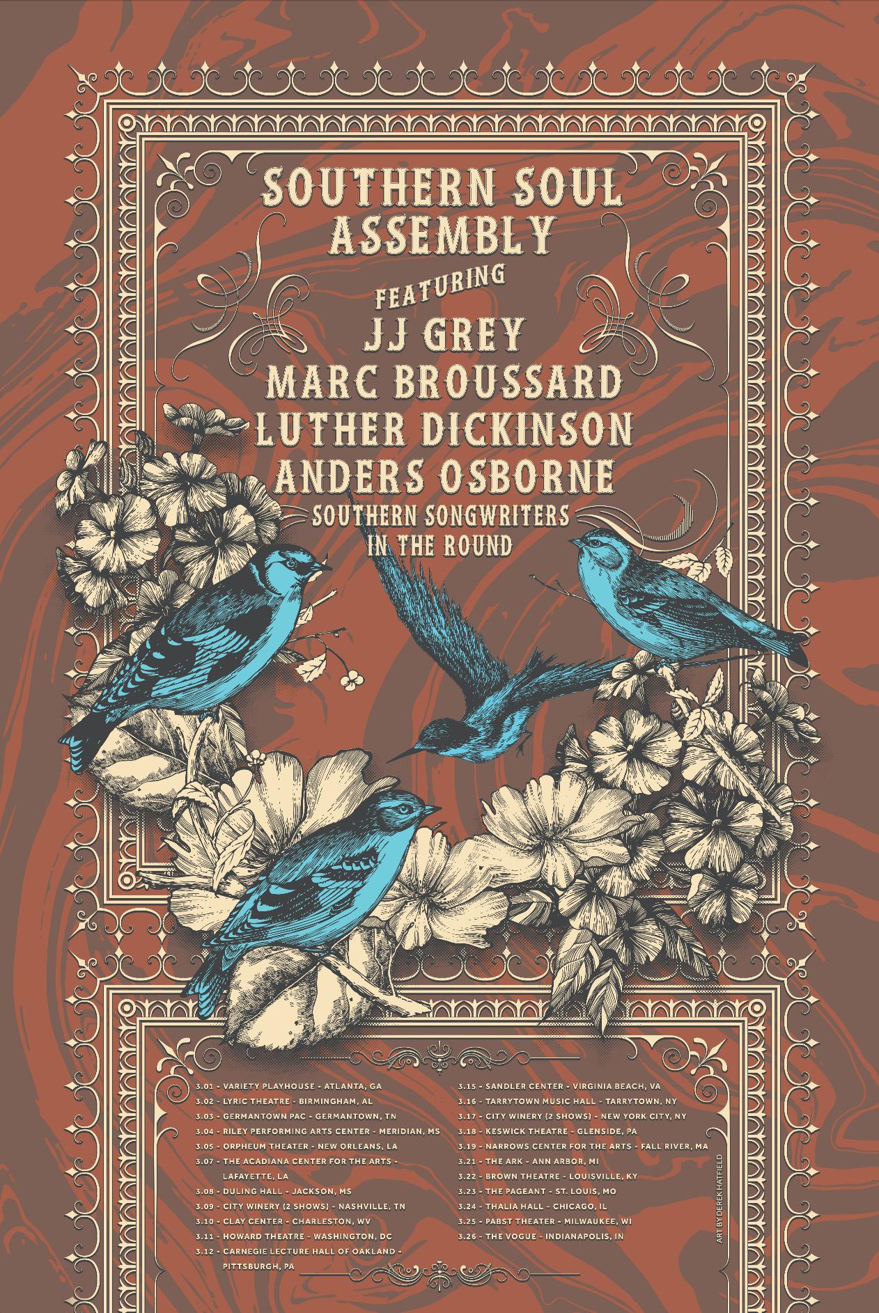 Southern Soul Assembly - 3.2017