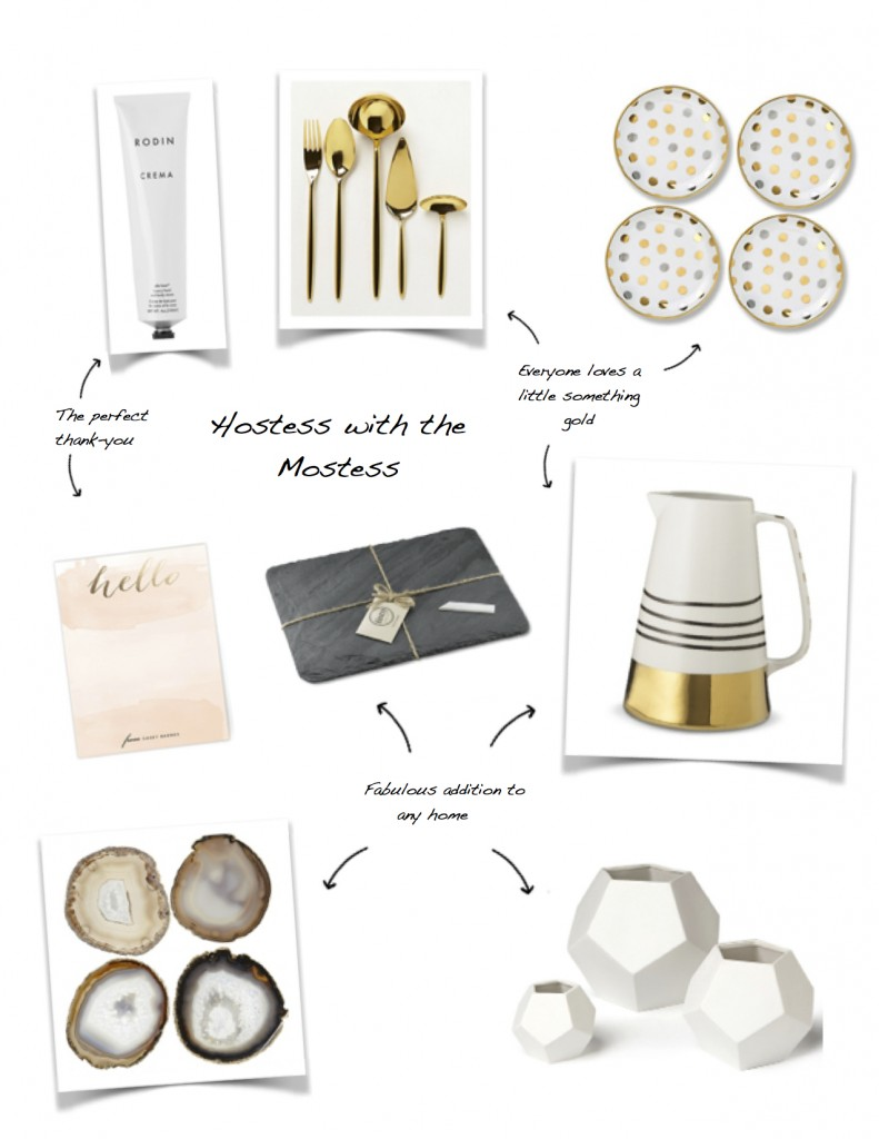Holiday List - For the Hostess