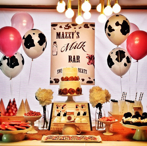 *Photo here taken by    Ilana Wiles    and posted @mommyshorts on Instagram…read below about the party we did for her daughter this weekend…it was a good one!