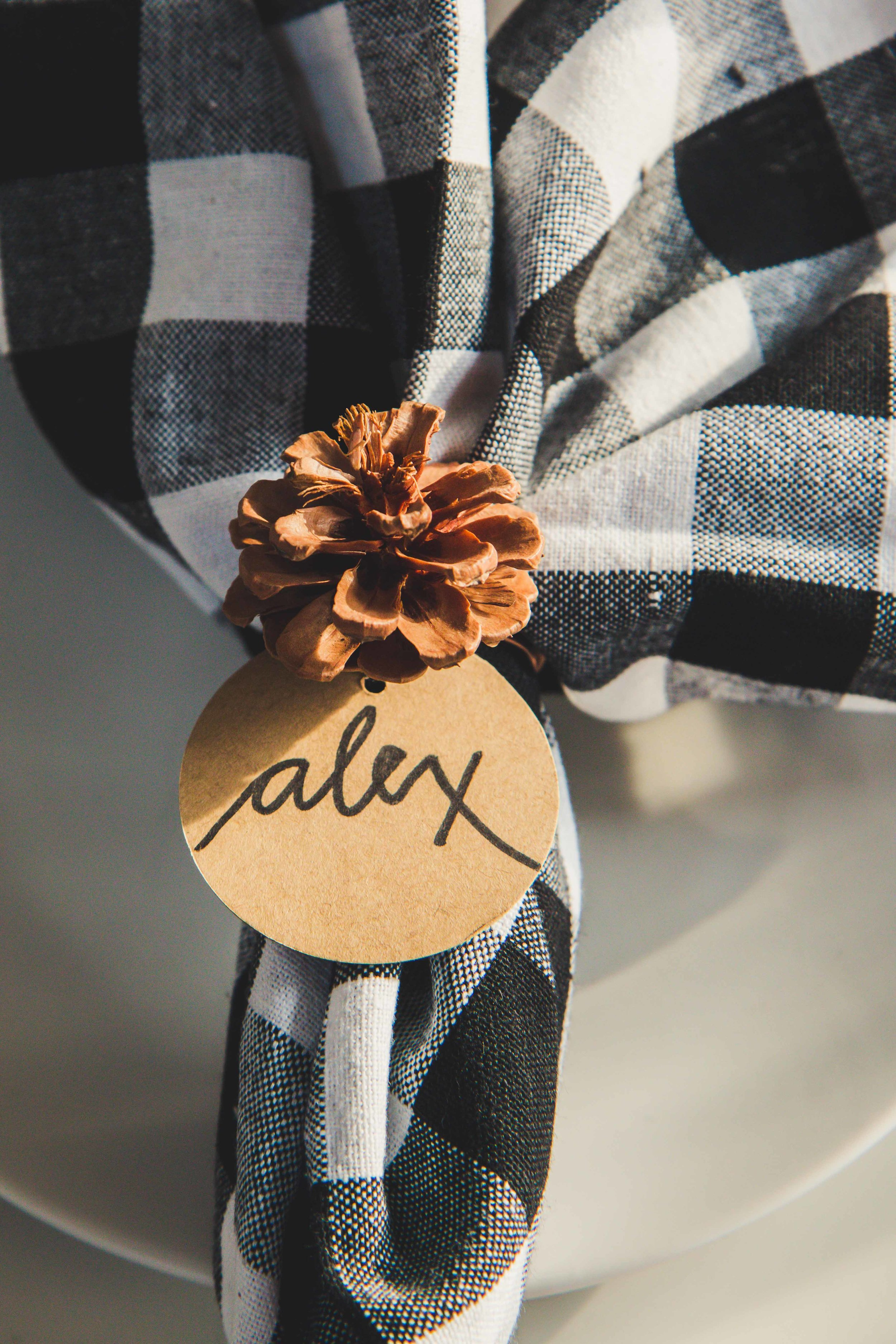 Diy Napkin Rings For Thanksgiving Little Miss Party