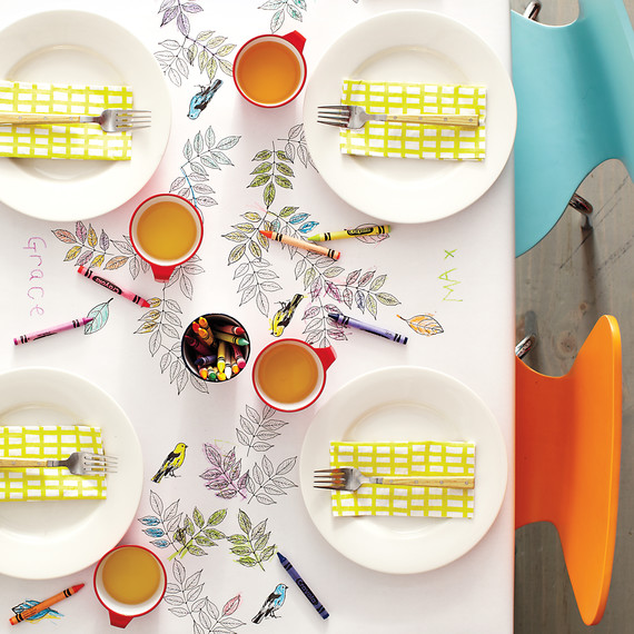 How to Create the Perfect Kids' Table - July 2019