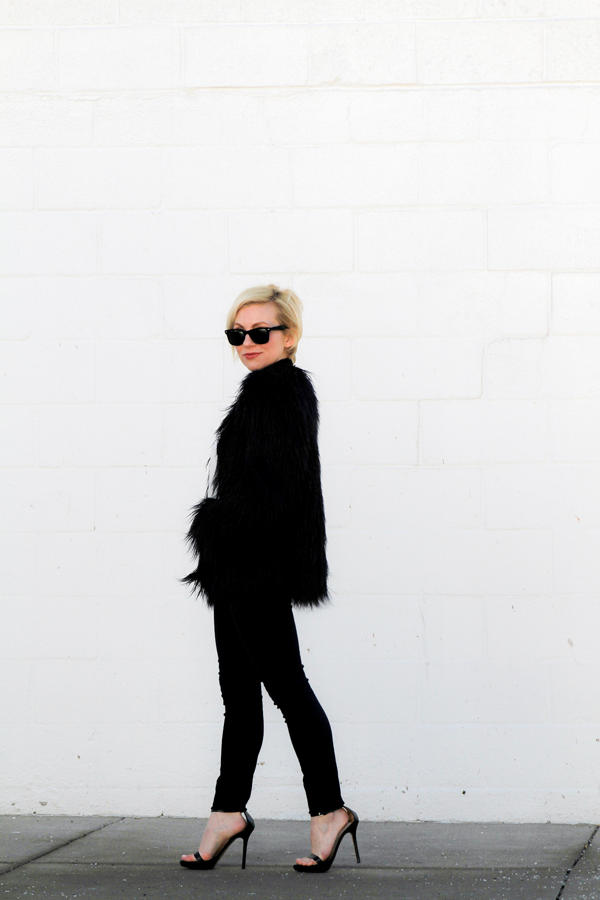 LoveNothingMore Zara Faux Fur Coat