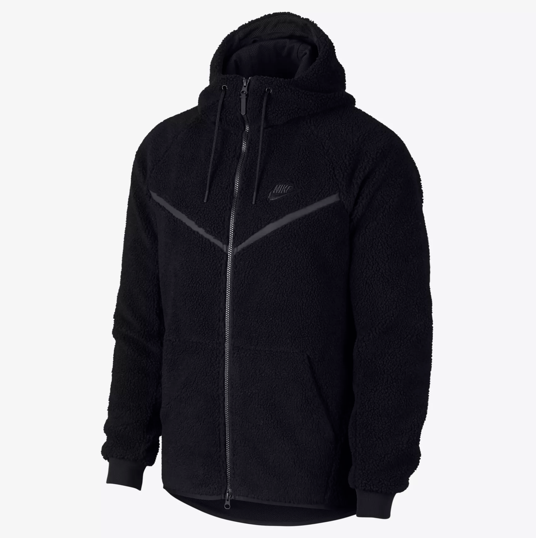 SHERPA HOODIE - This style is so comfortable and cozy. We are crushing on the Nike Sherpa Hoodie for $150.