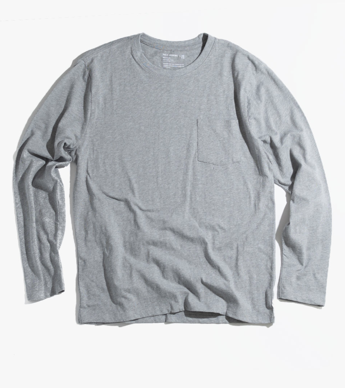 LONG SLEEVE - This $24 long sleeve from Pact is made with 100% Organic Cotton and is incredibly soft. And if this is a gift for your significant other, you can totally steal it for yourself.
