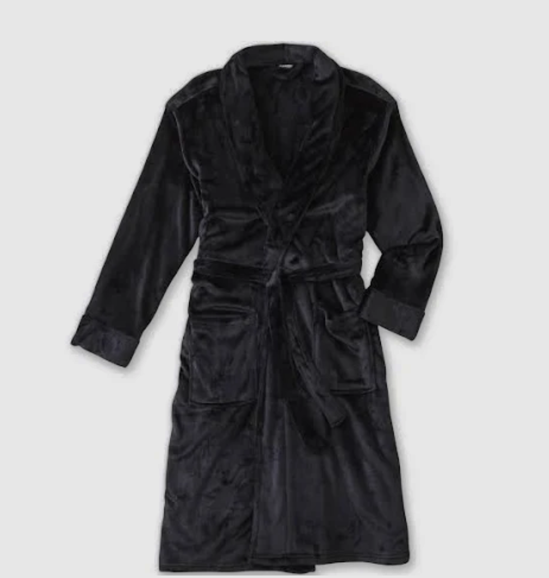 ROBE - This one from Target will be his new favorite outfit for lounge days. And it's on sale for $25.