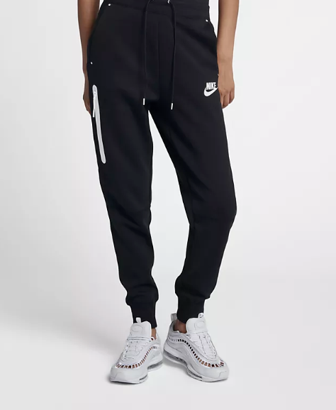 Nike Sportswear Tech Fleece - $90 - Higher in price but you will wear these ones constantly. We like to pair them with a tech hoodie for a matching look. They fit like a glove and are perfect for post-gym or a busy day when you also need comfort.
