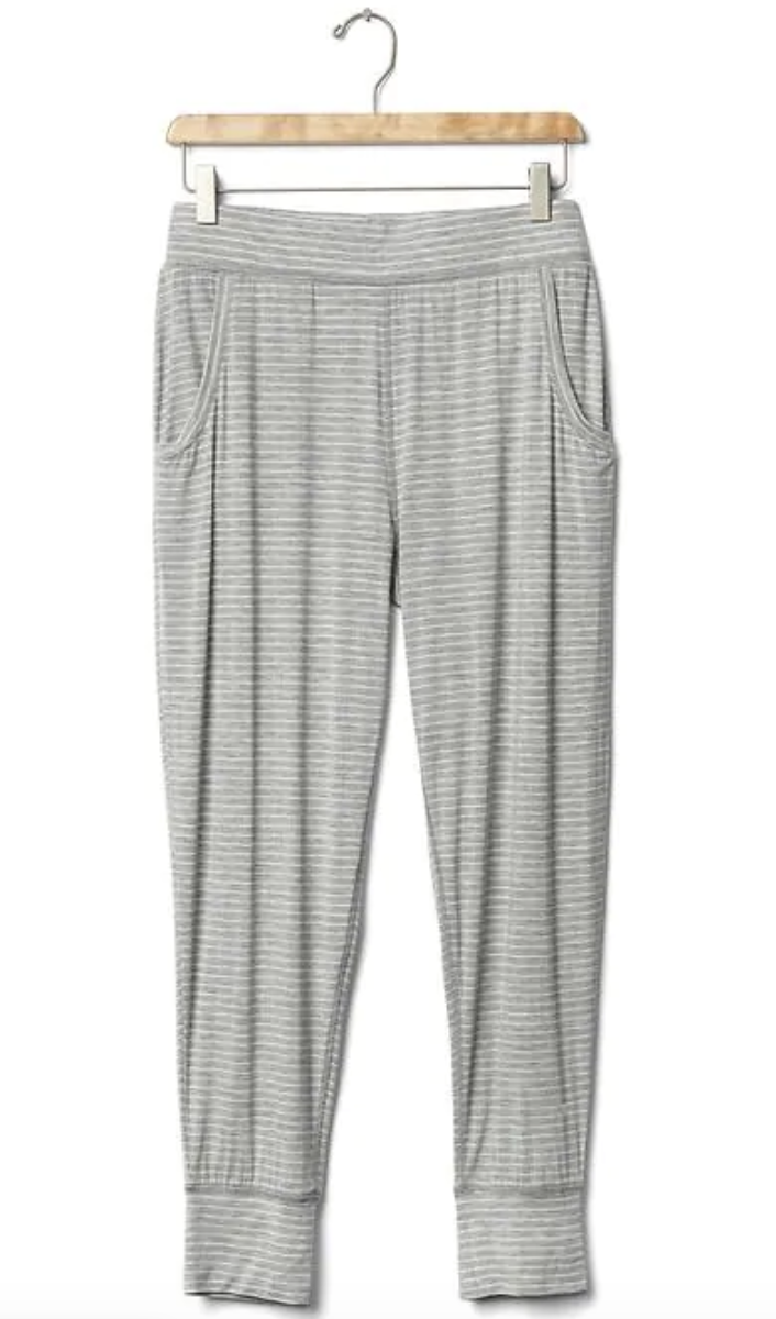 Gap Pure Body Modal Joggers - $40 - 500+ reviews & 4.3 stars speaks for itself. These are the absolute softest pants you will ever own. You'll want them in every color.