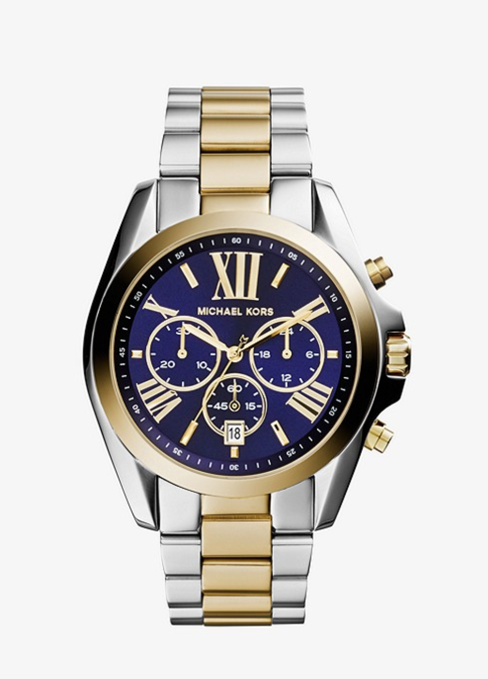 WATCH - Whether she likes silver, gold, or the two-toned look, a watch is always a wonderful gift. Check out this one from Michael Kors for $187.