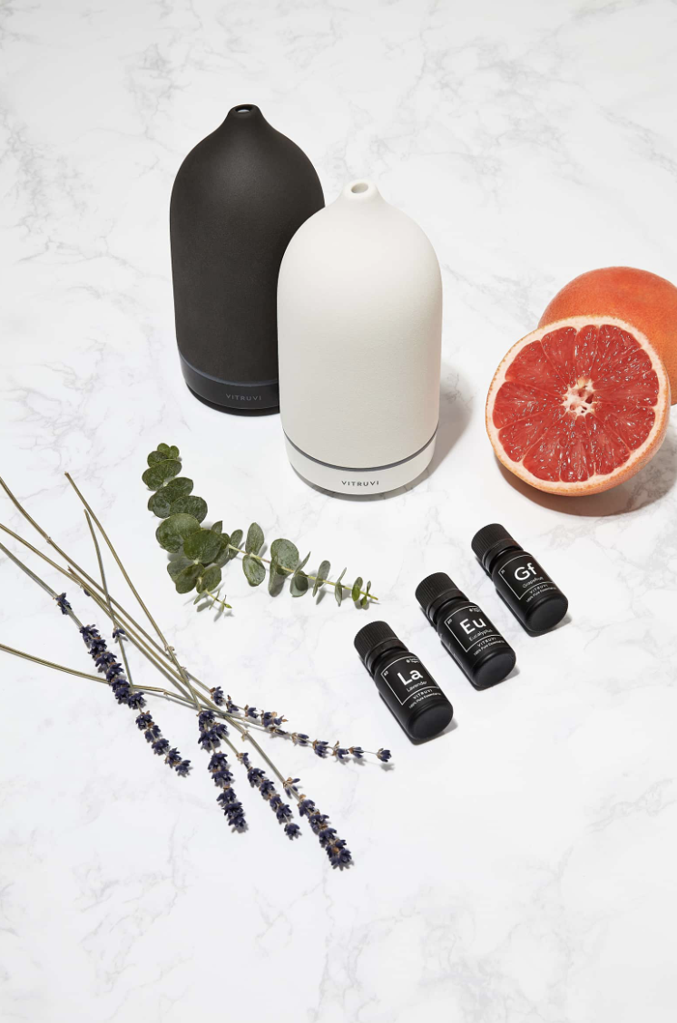 ESSENTIAL OIL DIFFUSER - Oil Diffusers are a staple in any home. Utilize different types of essential oils for healing properties while making your home smell wonderful. Get this diffuser for $119 at Nordstrom.