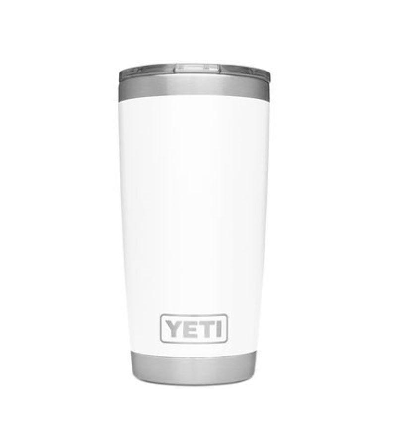 COFFEE CUP - It was only right we included this one on the ladies list, too. Yeti's are a good gift for all. Get this white one for $30 on the Yeti website.
