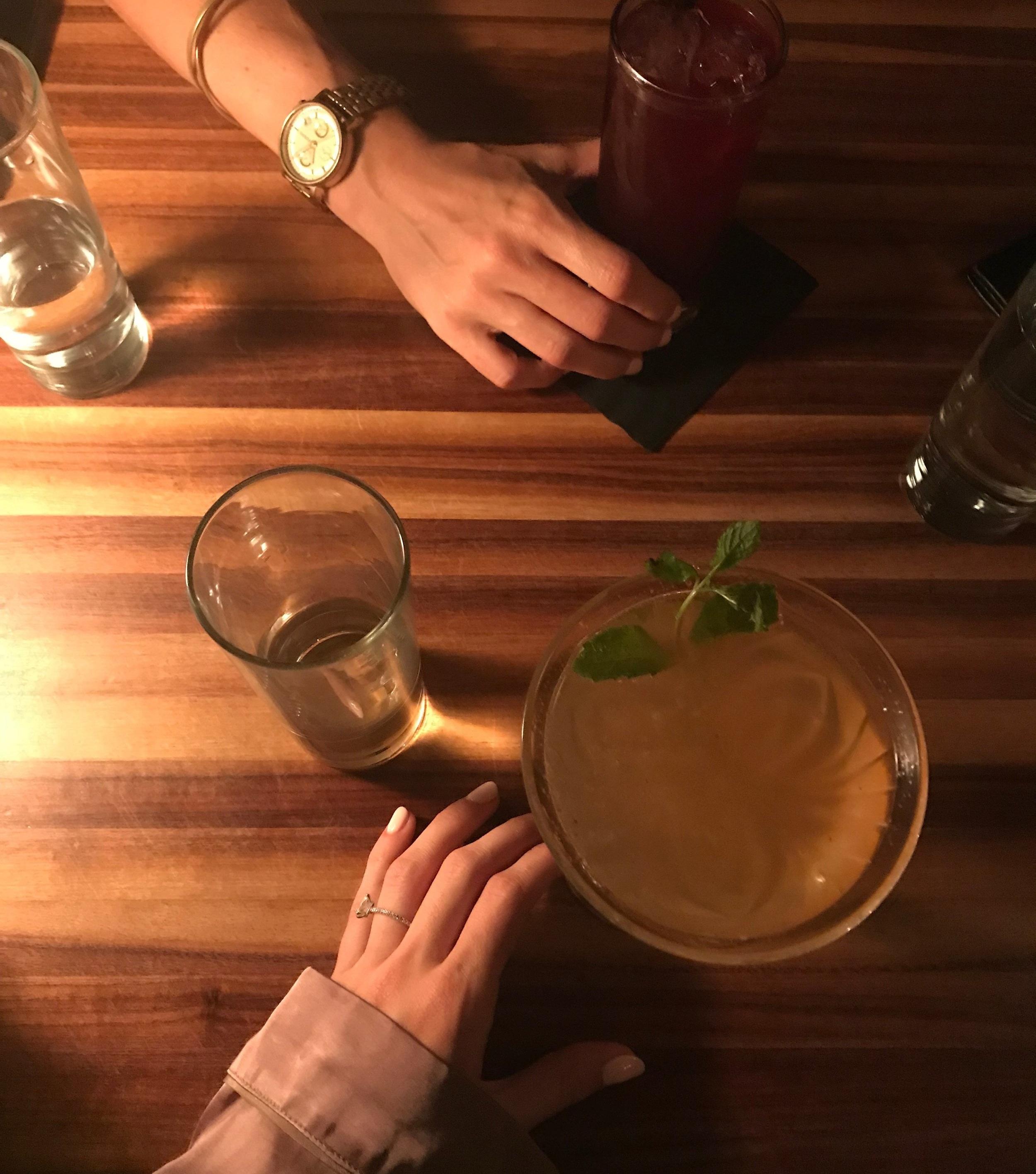 DRINKS + EATS -